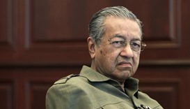 Mahathir urges Malaysians to join protest rally