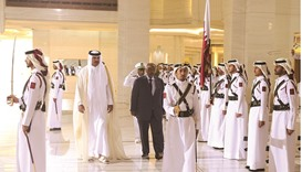 Emir holds talks with Djibouti leader
