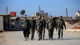 Syrian army pushes back rebels as peace push falters