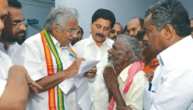 Chandy rejects charges, says his life 'open book'