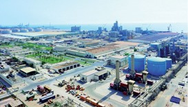 An aerial view of Qapco facilities in Mesaieed. Industries Qatar, the holding company of Qatar Petro