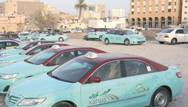 One-third of taxis off the road