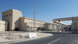 The thermal drying plant for the sludge generated from the sewage treatment process.