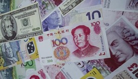 China forex reserves fall almost $100bn in January
