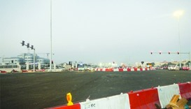 Signals at Al Thumama intersection partially open