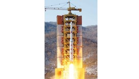 N Korean launches rocket in defiance of global warnings