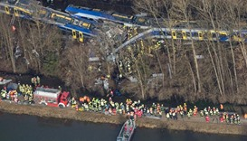 At least eight dead, over 100 injured in German train crash