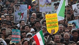 Hundreds of thousands rally in Iran against Trump