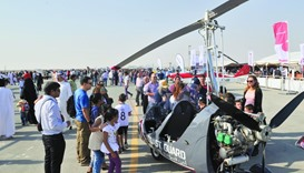 Al Khor air show spurs aviation dreams