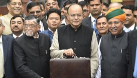 India unveils budget for recovery, and the poor, after cash crackdown