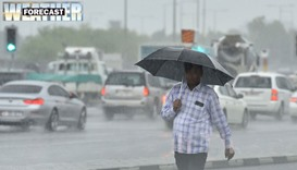 Chance of rain towards month-end