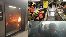 Tourist critically injured in Hong Kong subway arson attack