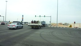 Tarfa Street is reopened for traffic