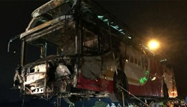 Tour bus crashes in Taiwan, killing at least 32