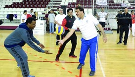 Minister joins Ashghal's NSD programme