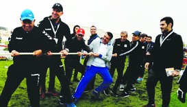 NSD turns nation into a vast sporting venue