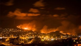 Wildfire destroys 11 houses on outskirts of Christchurch