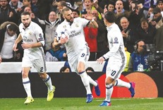 Benzema makes Madrid click, says Zidane after Real down Napoli