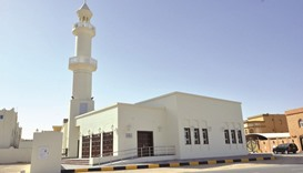 A new mosque in Al Wakrah which was handed over to the Department of Mosques of the Ministry of Awqa