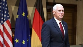 Pence vows Trump 'strongly committed' to Europe