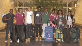 Brazil's future Olympians arrive for Doha camp