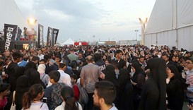 People take part in Comic Con expo in Jeddah