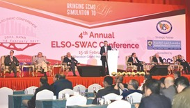 HMC hosts meet on life support systems
