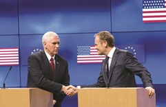 Pence reaffirms US commitment to EU