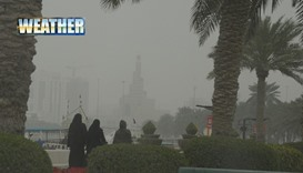Sunday to be cold, dusty and cloudy