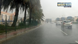 Scattered rain, dust tonight: Met