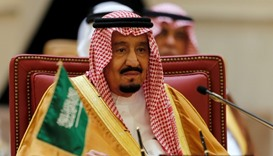 King Salman hopeful over 'historic' summit with Trump