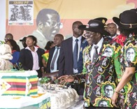 Mugabe talks about own death at birthday party