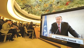 US takes its seat at the UN Human Rights Council