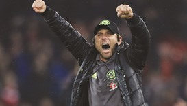 Conte urges team to seize moment in Arsenal crunch