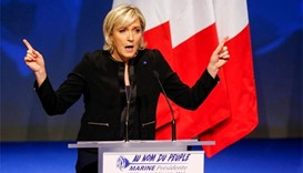 Le Pen vows 'France first' at campaign launch