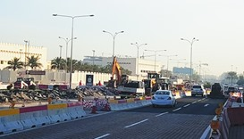 Ashghal takes steps to ease traffic congestion in New Slata