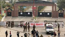 Two killed as militants attack Indian camp in Jammu