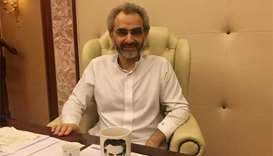Saudi billionaire Alwaleed back at work, company says