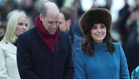 Prince William, Kate get warm welcome in chilly Norway