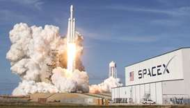 SpaceX launches dozens of new satellites for internet network