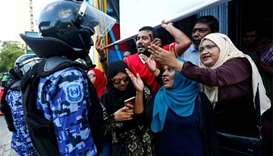 UN group says rule of law 'under siege' in Maldives