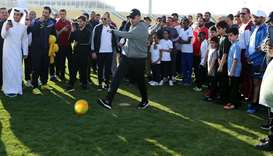 Qatar Sport Day celebrations kick off