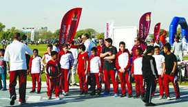 Thousands flock to Team Qatar Village at Aspire Park