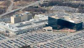 The National Security Agency (NSA) headquarters at Fort Meade, Maryland