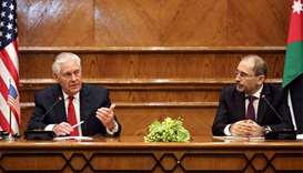 US Mideast peace plan 'fairly well advanced': Tillerson