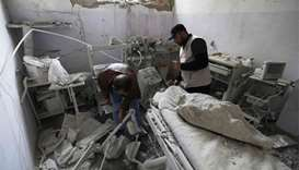 Air strikes hit another hospital in Syria's Idlib