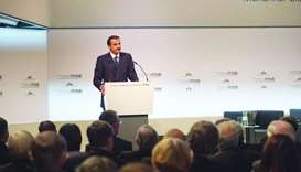 His Highness the Emir Sheikh Tamim bin Hamad al-Thani the Munich Security Conference