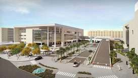 Change in road access to Hamad Hospital's Emergency Department