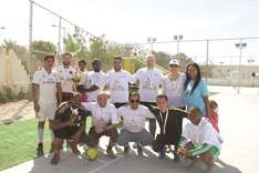 QDVC staff, families sweat it out at Lusail
