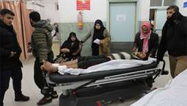 Israeli fire kills 2 in Gaza after blast wounds soldiers
